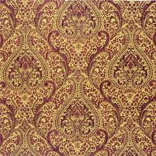 Burgundy/Red/Green Paisley Drapery and Upholstery Fabric by Kravet