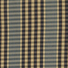 Federal Check Drapery and Upholstery Fabric by Fabricut