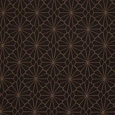 Brown/Yellow Modern Drapery and Upholstery Fabric by Kravet