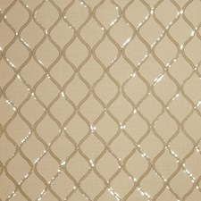 Silver Sand Embroidery Drapery and Upholstery Fabric by Fabricut
