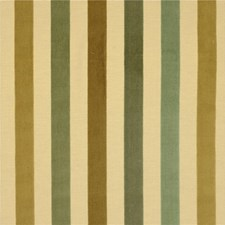 Beige/Green/Yellow Stripes Drapery and Upholstery Fabric by Kravet
