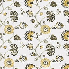 Dijon Floral Drapery and Upholstery Fabric by Fabricut