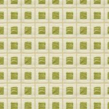 Light Green/White Geometric Drapery and Upholstery Fabric by Kravet