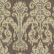 Brown/Beige/White Ethnic Drapery and Upholstery Fabric by Kravet