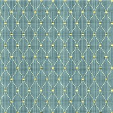 Light Blue/Ivory/Beige Small Scales Drapery and Upholstery Fabric by Kravet