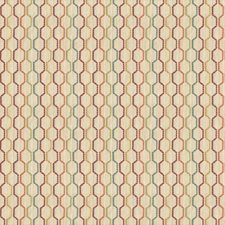Beige/Multi Modern Drapery and Upholstery Fabric by Kravet