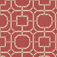 Beige/Burgundy/Red Solid W Drapery and Upholstery Fabric by Kravet