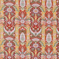 Red Global Drapery and Upholstery Fabric by Fabricut