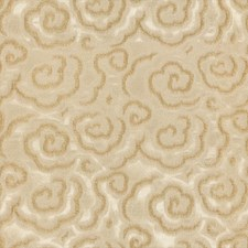 Spungold Botanical Drapery and Upholstery Fabric by Kravet