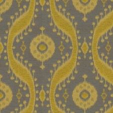 Lemongrass Ethnic Drapery and Upholstery Fabric by Kravet