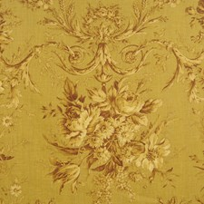 Umber Print Pattern Drapery and Upholstery Fabric by Fabricut