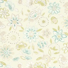 Natural Glazes Floral Drapery and Upholstery Fabric by Fabricut