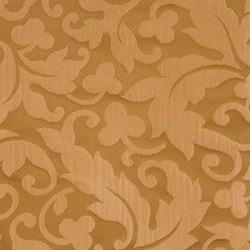 Caramel Damask Drapery and Upholstery Fabric by Fabricut