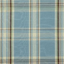 Blue/brown Drapery and Upholstery Fabric by Duralee