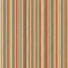 Coral Stripes Drapery and Upholstery Fabric by Kravet