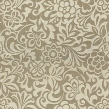 Platinum Botanical Drapery and Upholstery Fabric by Kravet