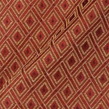 Red Drapery and Upholstery Fabric by Duralee