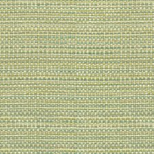White/Turquoise/Light Green Stripes Drapery and Upholstery Fabric by Kravet