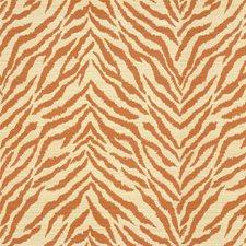 Beige/Orange Animal Skins Drapery and Upholstery Fabric by Kravet
