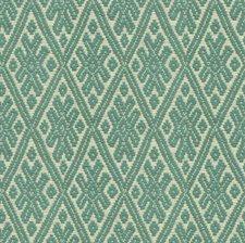 Aqua Diamond Drapery and Upholstery Fabric by Kravet