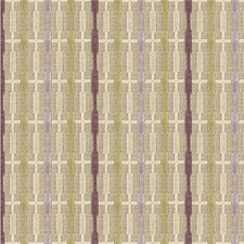 Beige/Purple/Yellow Stripes Drapery and Upholstery Fabric by Kravet