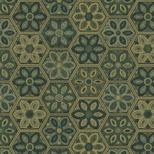 Seaglass Botanical Drapery and Upholstery Fabric by Kravet