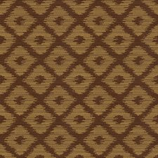 Brown/Yellow Contemporary Drapery and Upholstery Fabric by Kravet