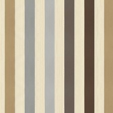 White/Brown/Grey Stripes Drapery and Upholstery Fabric by Kravet