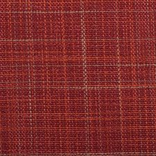 Red/Clay Plaid Drapery and Upholstery Fabric by Duralee