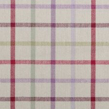 Mulberry Plaid Drapery and Upholstery Fabric by Duralee