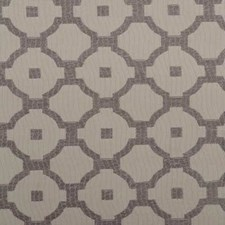 Steel Geometric Drapery and Upholstery Fabric by Duralee