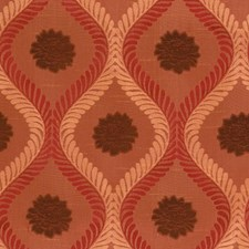 Spice Jacquard Pattern Drapery and Upholstery Fabric by Fabricut