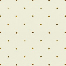 White/Brown/Yellow Dots Drapery and Upholstery Fabric by Kravet
