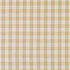 Amber Plaid Drapery and Upholstery Fabric by Duralee