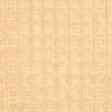 Soft Gold Check Drapery and Upholstery Fabric by Fabricut