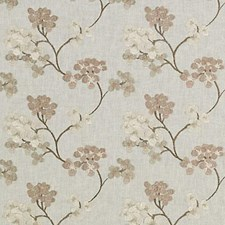 Mulberry Embroidery Drapery and Upholstery Fabric by Duralee