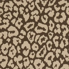Mahogany Animal Drapery and Upholstery Fabric by Fabricut