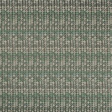 Sea Green Geometric Drapery and Upholstery Fabric by Kravet