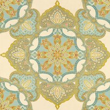Mineral Paisley Drapery and Upholstery Fabric by Kravet