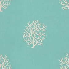 Turquoise Novelty Drapery and Upholstery Fabric by Kravet