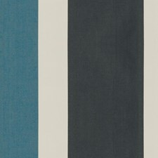 Cobalt Stripes Drapery and Upholstery Fabric by Kravet