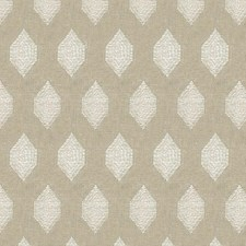 Grey/Ivory Geometric Drapery and Upholstery Fabric by Kravet