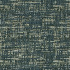 Silver/Dark Blue Metallic Drapery and Upholstery Fabric by Kravet