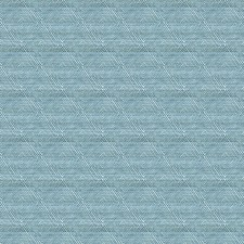 Light Blue/White Geometric Drapery and Upholstery Fabric by Kravet
