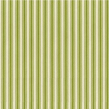 Celery/White/Green Stripes Drapery and Upholstery Fabric by Kravet