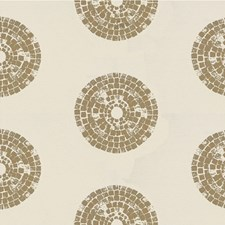 Taupe Ethnic Drapery and Upholstery Fabric by Kravet