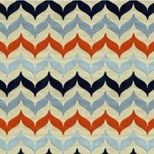 Castaway Bargellos Drapery and Upholstery Fabric by Kravet