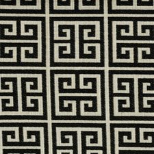 Licorice Geometric Drapery and Upholstery Fabric by Kravet