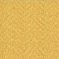 Yellow Herringbone Drapery and Upholstery Fabric by Kravet