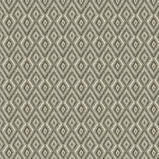 Beige/Grey/Charcoal Diamond Drapery and Upholstery Fabric by Kravet